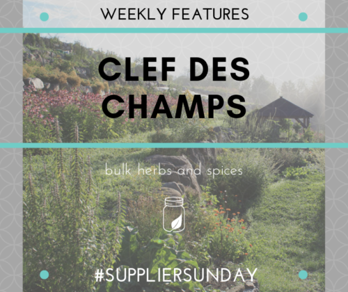 Supplier Sunday - Clef des Champs