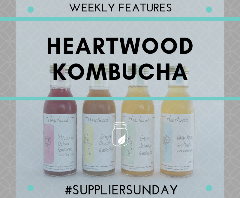 Supplier Sunday - Heartwood Kombucha