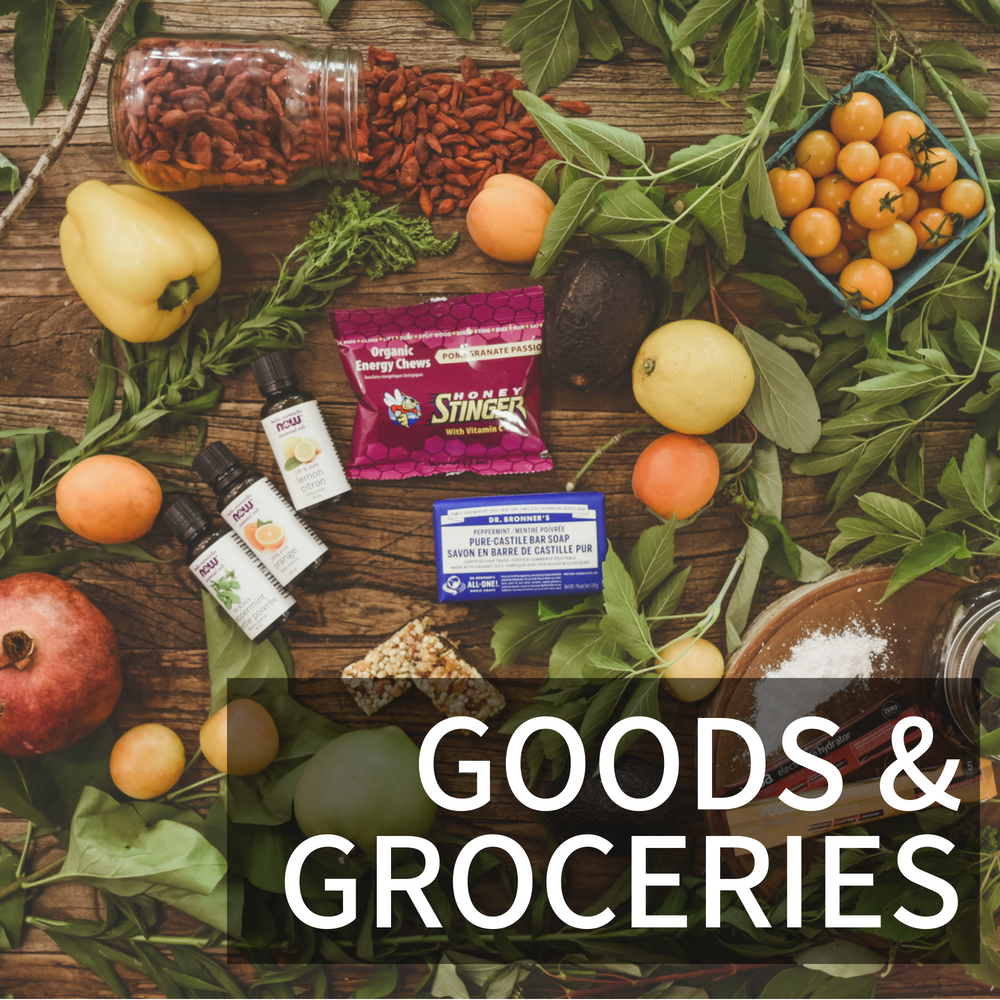 Organic, local groceries and goods